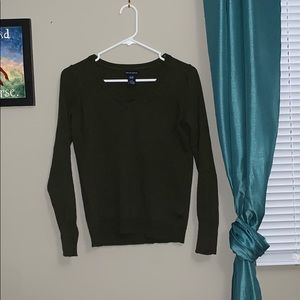 Gap Olive Green Made With Cashmere Sweater